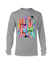 Load image into Gallery viewer, Boston Terrier Multi  Unique  Custom Design For Dog Lovers Unisex Long Sleeve