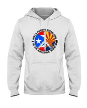Load image into Gallery viewer, Just A Puerto Rico Girl In An Arizona   World Personalized Nation Gifts Hoodie