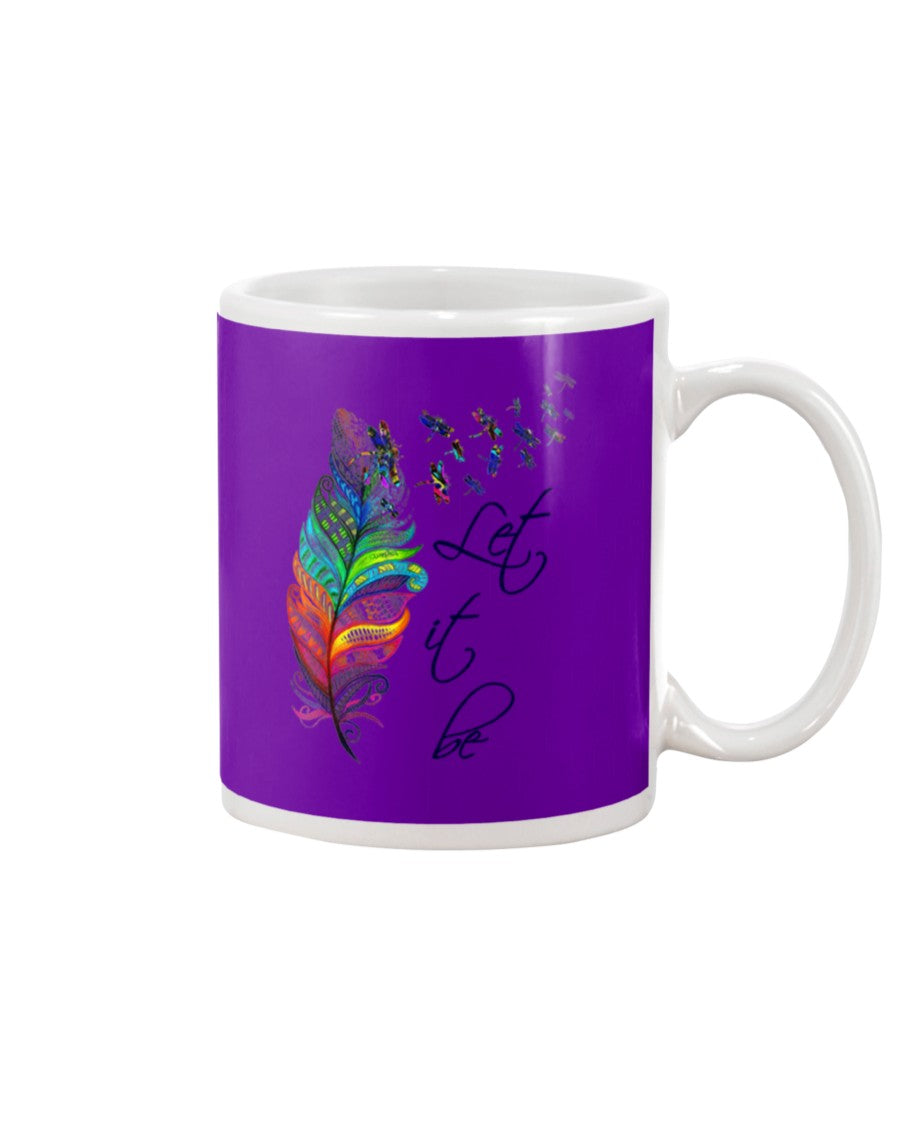 Dragonfly Let It Be Colour Gifts Mug