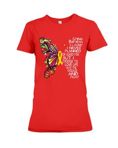 Spina Bifida Is A Journey I Never Planned Or Asked For But I Choose To Love Life Ladies Tee