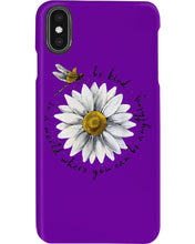 Load image into Gallery viewer, Be Kind Dragonfly Daisy Funny Dessign Gift For Mother Day Phone case