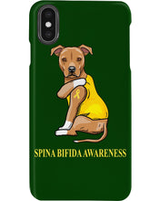 Load image into Gallery viewer, Spina Bifida Awareness Gift For Dog Lovers Custom Design Phone case