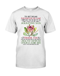 I Gave You My Amazing Son Meaningful Gift From Mother-In-Law To Daughter-In-Law Guys Tee