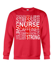 Load image into Gallery viewer, Thoughful Stress Strong Nurse Custom Design Sweatshirt