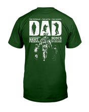 Load image into Gallery viewer, The Veteran The Myth The Legend Custom Design Gifts Guys Tee