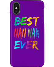 Load image into Gallery viewer, Best Nan Nan Ever Colorful Abstract Words Gifts Phone case