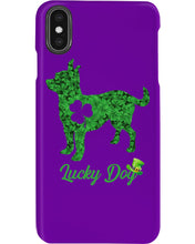 Load image into Gallery viewer, Chihuahua Lucky Day Clover Happy St Patrick's Day Trending Phone case