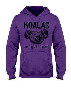 Koalas Are My Spirit Animal Gifts For Koala Lovers Hoodie