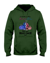 Load image into Gallery viewer, In Octorber We Wear Pink And Blue Breast Cancer Custom Design Hoodie