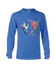 Load image into Gallery viewer, Color Hummingbird Funny Custom Design For Bird Lover Unisex Long Sleeve