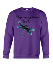 Load image into Gallery viewer, Whisper Words Of Wisdom Let It Be Gifts Sweatshirt