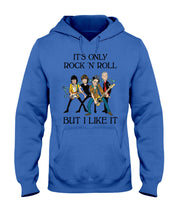 Load image into Gallery viewer, It's Only Rock 'N' Roll But I Like It Custom Design Hoodie