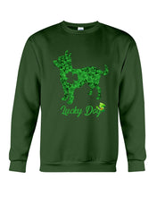 Load image into Gallery viewer, Chihuahua Lucky Day Clover Happy St Patrick's Day Trending Sweatshirt