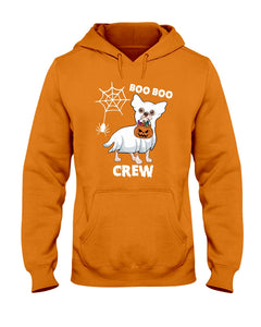 Chihuahua Boo Boo Crew Funny Design Gift For Friends Who Loves Dog Hoodie