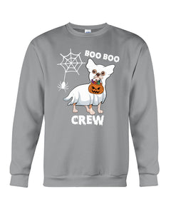 Chihuahua Boo Boo Crew Funny Design Gift For Friends Who Loves Dog Guys Tee