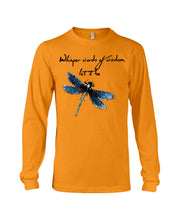 Load image into Gallery viewer, Whisper Words Of Wisdom Let It Be Gifts Unisex Long Sleeve