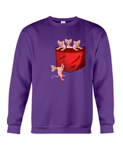 Load image into Gallery viewer, Lovely Sphynx  Pocket Gifts For Cat Lovers Sweatshirt