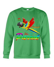 Load image into Gallery viewer, Lovely Tote Bag Be Colorful Like A Parrot Birthday Gift For Parrot Lovers Sweatshirt
