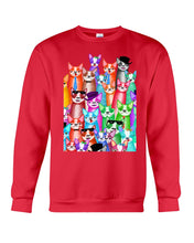 Load image into Gallery viewer, Boston Terrier Multi  Unique  Custom Design For Dog Lovers Sweatshirt
