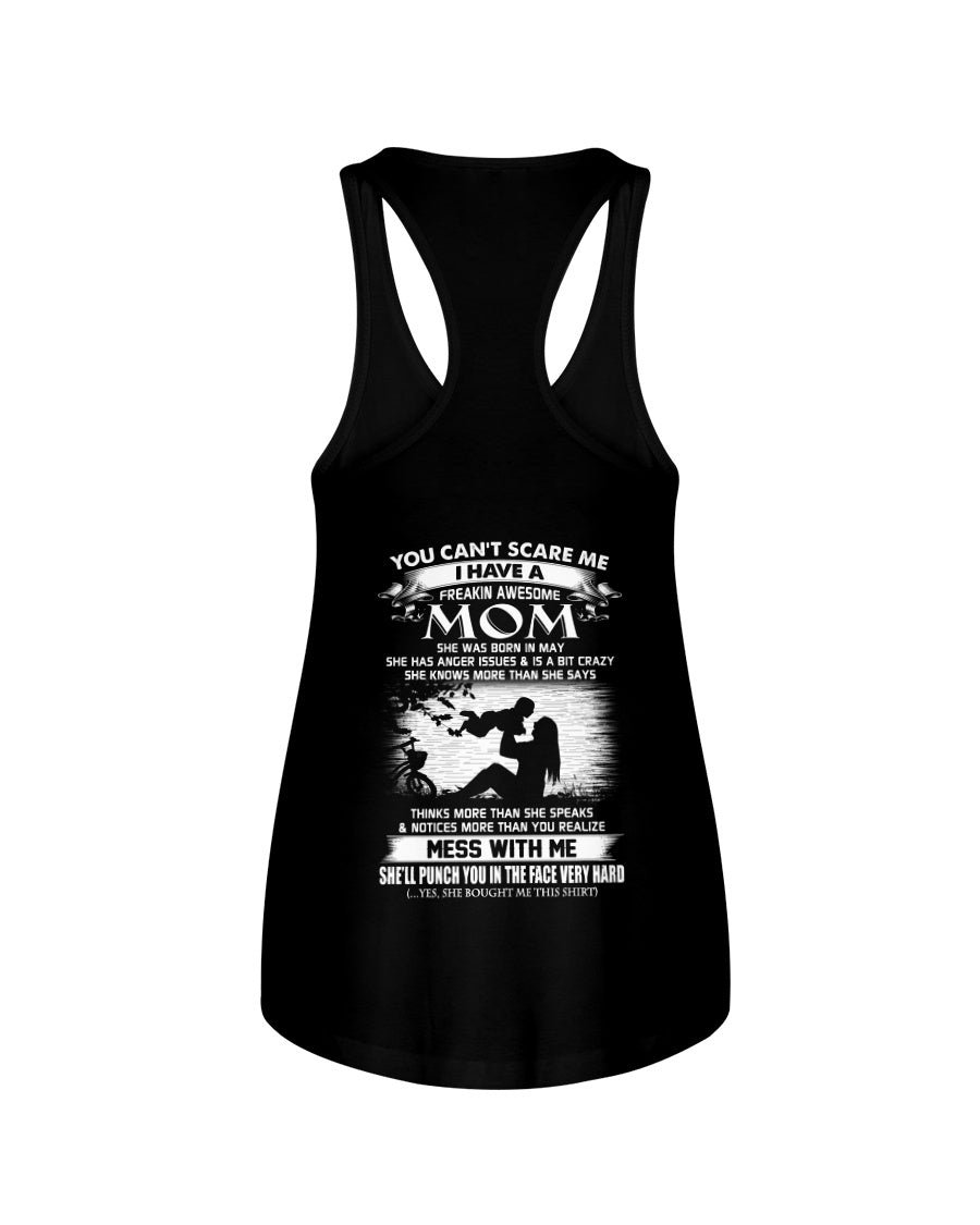 I Have A May Freaking Awesome Mom Birthday Gifts For Family Ladies Flowy Tank