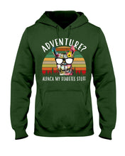 Load image into Gallery viewer, Adventure Alpaca My Diabetes Stuff Colorful Gift For Family Hoodie