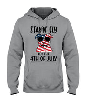 Load image into Gallery viewer, Staying Fly For The 4Th Of July Custom Design Hoodie