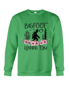 Bigfoot Running Team Custom Design Gift For Bigfoot Fans Sweatshirt