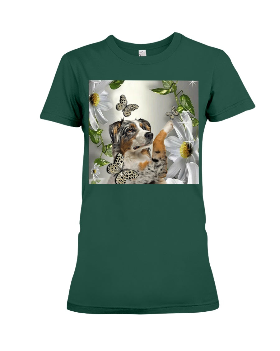 Lovely Phone Case Birthday Gift For Dog Lovers Ladies Tee