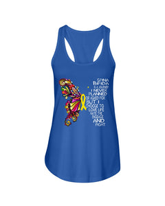Spina Bifida Is A Journey I Never Planned Or Asked For But I Choose To Love Life Ladies Flowy Tank