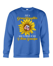 Load image into Gallery viewer, Just A Granddaughter Who Is Proud Of Her Vietnam Grandpa Gifts Sweatshirt