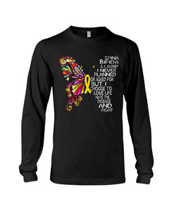 Spina Bifida Is A Journey I Never Planned Or Asked For But I Choose To Love Life Unisex Long Sleeve