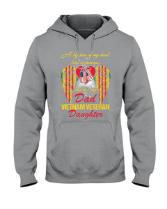 A Big Piece Of My Heart Live In Heaven And He's My Dad Hoodie