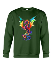 Load image into Gallery viewer, Lovely Tote Bag Colorful Dragon Birthday Gift Sweatshirt