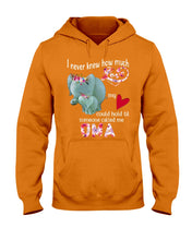 Load image into Gallery viewer, Elephants Someone Called Me Oma Funny Design Hoodie