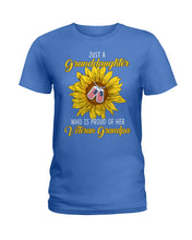 Load image into Gallery viewer, Just A Granddaughter Who Is Proud Of Her Vietnam Grandpa Gifts Ladies Tee