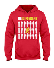 Load image into Gallery viewer, Playing Bass Guitar Makes Your Difference Custom Design Hoodie