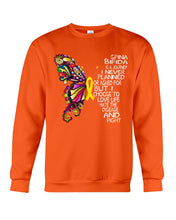 Load image into Gallery viewer, Spina Bifida Is A Journey I Never Planned Or Asked For But I Choose To Love Life Sweatshirt
