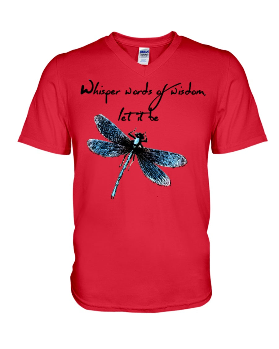 Whisper Words Of Wisdom Let It Be Gifts Guys V-Neck