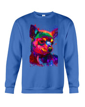 Load image into Gallery viewer, Chihuahua Watercolor Special   Custom Design For Dog Lovers Sweatshirt