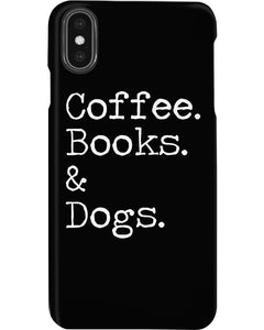 Coffee Books And Dogs Special Custom Design Phone case