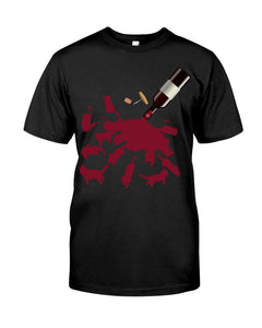Cats And Wine Great Gift For Wine Lovers Who Loves Cat Guys Tee