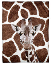 Load image into Gallery viewer, Lovely Phone Case Gift For Giraffe Lovers Fleece Blanket