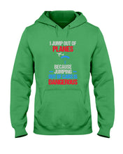 Load image into Gallery viewer, I Jump Out Of Planes Gift For Skydiving Lovers Hoodie