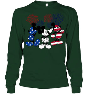 Mickey Mouse Design Gift For Mickey Lovers Unisex Long Sleeve