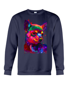 Chihuahua Watercolor Special   Custom Design For Dog Lovers Sweatshirt