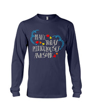 Load image into Gallery viewer, Make Today Ridiculously Awesome Apple Hearts Cute Gifts Unisex Long Sleeve