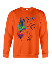 Load image into Gallery viewer, Dragonfly Let It Be Colour Gifts Sweatshirt