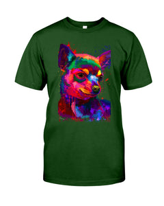 Chihuahua Watercolor Special   Custom Design For Dog Lovers Guys Tee