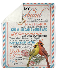 I'm So In Love With Every Little Thing With You Great Gift For Husband Sherpa Blanket