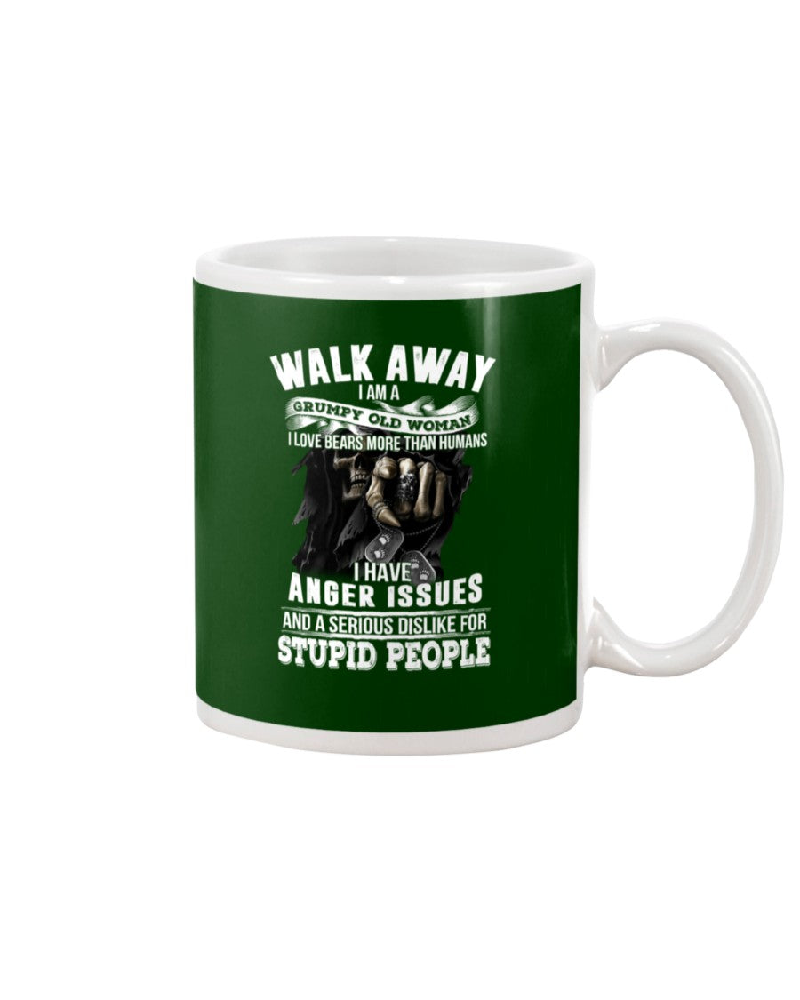 I'm A Grumpy Old Woman That Loves Bears More Than Humans Gifts For Bear Lovers Mug